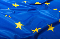 Bandeira da União Europeia Fotos de Stock