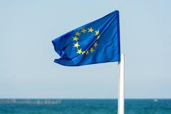 Bandeira da União Europeia Imagens de Stock