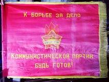A bandeira da União Soviética fotos de stock royalty free