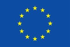Bandeira da União Europeia Imagens de Stock Royalty Free