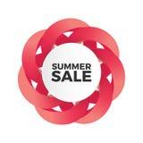 Bandeira da venda do verão Imagem de Stock Royalty Free