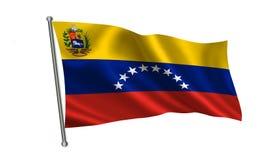 Bandeira da Venezuela Uma série de bandeiras do ` do mundo ` O país - bandeira da Venezuela Fotos de Stock Royalty Free