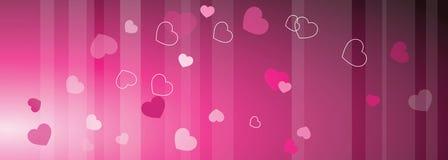 Bandeira da Web do ` s do Valentim com espaço da cópia molde Eleme do projeto gráfico ilustração royalty free