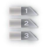 Bandeira das opções de Infographics Fotos de Stock