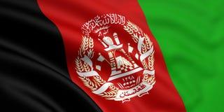 Bandeira de Afeganistão Imagens de Stock Royalty Free