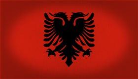 Bandeira de Albânia Imagem de Stock Royalty Free