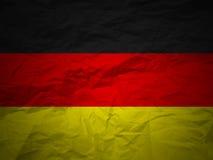 Bandeira de Alemanha do fundo de Grunge Imagem de Stock Royalty Free