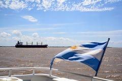 Bandeira de Argentina, Fotografia de Stock