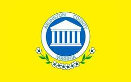 Bandeira de Arlington County em Virgínia, EUA imagens de stock royalty free