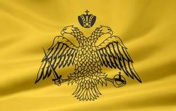 Bandeira de Athos Imagem de Stock Royalty Free