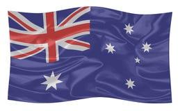A bandeira de Austrália ilustração do vetor