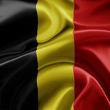 Bandeira de Bélgica Imagem de Stock Royalty Free