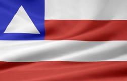 Bandeira de Baía ilustração do vetor