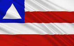 Bandeira de Baía, Brasil ilustração stock