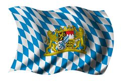 Bandeira de Baviera Foto de Stock Royalty Free