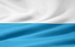 Bandeira de Baviera - versão listrada Fotografia de Stock Royalty Free