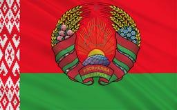 Bandeira de Belarus imagens de stock