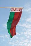 Bandeira de Belarus imagem de stock