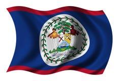 Bandeira de Belize Fotografia de Stock Royalty Free