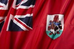 Bandeira de Bermuda Fotos de Stock Royalty Free