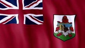 Bandeira de Bermuda vídeos de arquivo