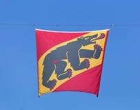 Bandeira de Berna Imagem de Stock