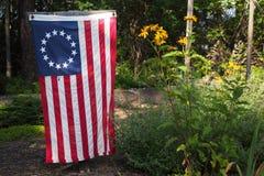 Bandeira de Betsy Ross foto de stock royalty free