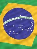 Bandeira de Brasil Fotos de Stock