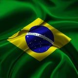 Bandeira de Brasil Fotografia de Stock Royalty Free