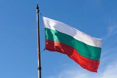 Bandeira de Bulgária Imagem de Stock