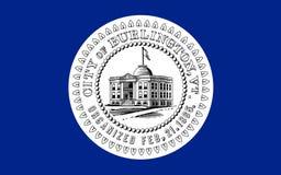 Bandeira de Burlington em Vermont, EUA imagem de stock royalty free