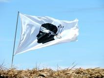 Bandeira de Córsega Fotografia de Stock Royalty Free