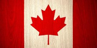 Bandeira de Canadá Imagens de Stock Royalty Free