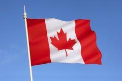Bandeira de Canadá - America do Norte Imagens de Stock