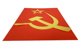 Bandeira de CCCP Fotos de Stock Royalty Free