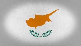 Bandeira de Chipre Imagem de Stock