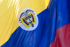 Bandeira de Colômbia Fotografia de Stock