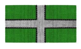 Bandeira de Devonshire em Inglaterra Imagens de Stock Royalty Free