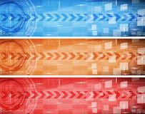 Bandeira de Digitas Foto de Stock Royalty Free
