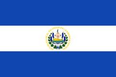 Bandeira de El Salvador Imagem de Stock Royalty Free