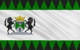 Bandeira de Emmen de Países Baixos Ilustração Royalty Free