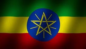 Bandeira de Etiópia vídeos de arquivo