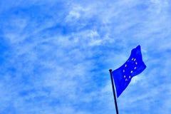 Bandeira de Europa Foto de Stock Royalty Free