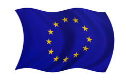 Bandeira de Europa Imagens de Stock Royalty Free