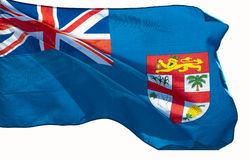 Bandeira de Fiji Foto de Stock Royalty Free