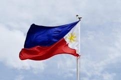 Bandeira de Filipinas imagens de stock royalty free