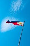 Bandeira de Filipinas imagens de stock