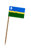 Bandeira de Flevoland Fotografia de Stock