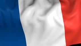Bandeira de França video estoque