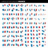 Bandeira de França, ilustração do vetor Foto de Stock